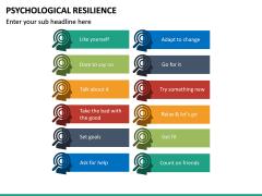 Psychological Resilience PPT Slide 19
