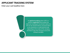Applicant Tracking System PPT Slide 13