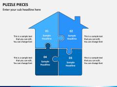 Puzzle pieces PPT slide 5