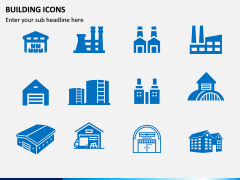 Building Icons PPT Slide 13