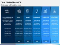 Table Infographics PPT Slide 3