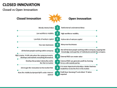 Closed Innovation PPT slide 22