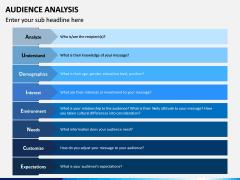 Audience Analysis PPT Slide 16