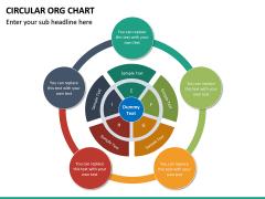 Circular ORG Chart PPT Slide 32