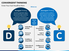 Convergent thinking PPT slide 3