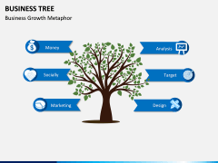 Business Tree PPT Slide 1