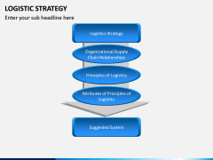 Logistic Strategy PPT Slide 6