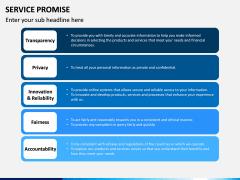 Service Promise PPT slide 11