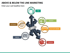 Above and Below the Line Marketing PPT Slide 21