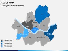 Seoul Map PPT Slide 6