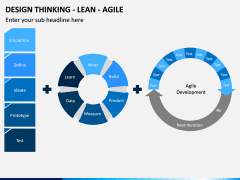 Design Thinking - Lean - Agile PPT Slide 6