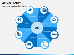 Virtual Reality PPT Slide 1