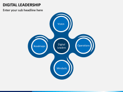 Digital Leadership PPT Slide 1