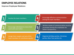 Employee Relations PPT Slide 26