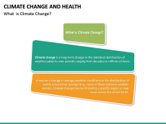 Climate Change and Health PPT Slide 17