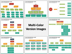 Sales organization multicolor combined