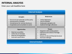 Internal Analysis PPT slide 5