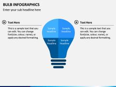 Bulb Infographics PPT Slide 8