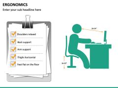 Ergonomics PPT Slide 19
