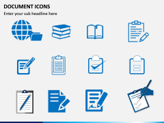 Document Icons PPT Slide 4
