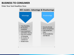 Business to Consumer PPT slide 13