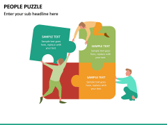 People Puzzle PPT Slide 17