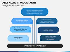 Large Account Management PPT Slide 1