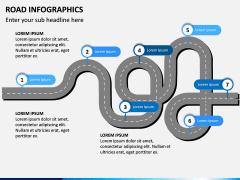 Road Infographics PPT Slide 11
