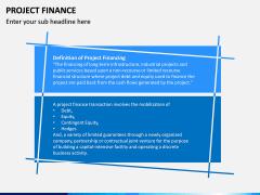 Project Finance PPT Slide 1