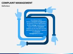 Complaint Management PPT slide 1