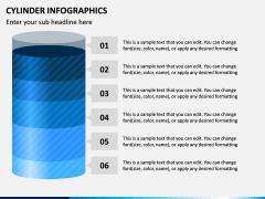 Cylinder Infographics PPT Slide 3