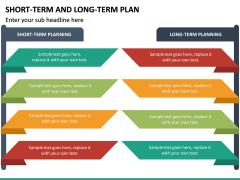 Short Term and Long Term Plan PPT Slide 18