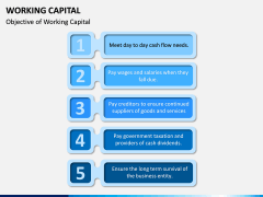 Working Capital PPT slide 6