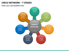Circle Network – 7 Stages PPT Slide 2