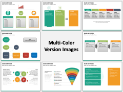 Sales Methods Multicolor Combined