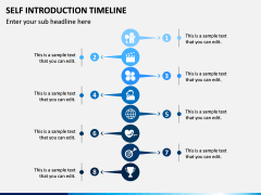 Self Introduction Timeline PPT Slide 10