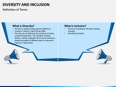 Diversity and Inclusion PPT Slide 1