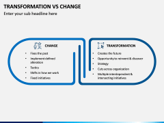 Transformation Vs Change PPT Slide 3