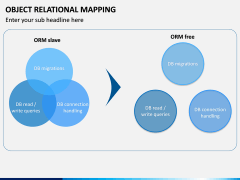 Object Relational Mapping PPT slide 14