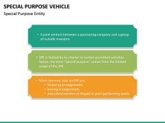 Special Purpose Vehicle (SPV) PPT Slide 21