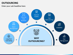Outsourcing PPT Slide 1