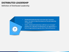 Distributed Leadership PPT Slide 1