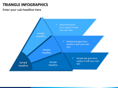 Triangle Infographics PPT Slide 9