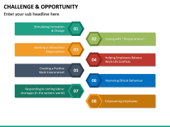 Challenge and Opportunity PPT Slide 21