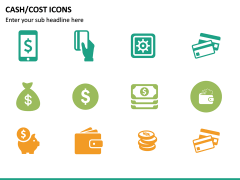 Cash Cost Icons PPT Slide 22