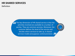 HR Shared Services PPT Slide 2