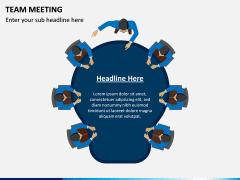 Team Meeting PPT Slide 8