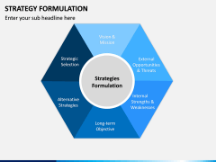 Strategy Formulation PPT slide 1