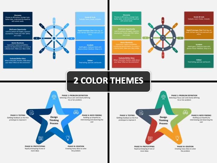 Design Thinking PPT Cover Slide