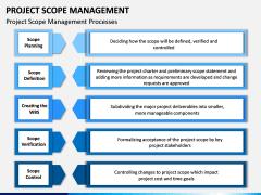 Project Scope Management PPT Slide 5